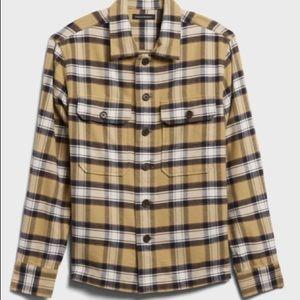 Heavy Flannel Shirt Jacket